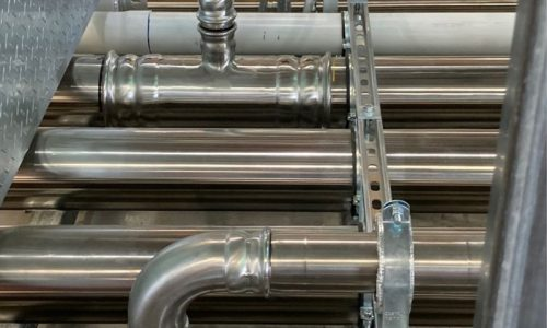 Maitland Hospital stainless steel prefab manifolds