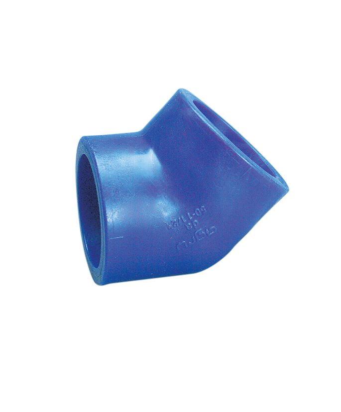 Maxair Socket Fusion 45 deg Elbow