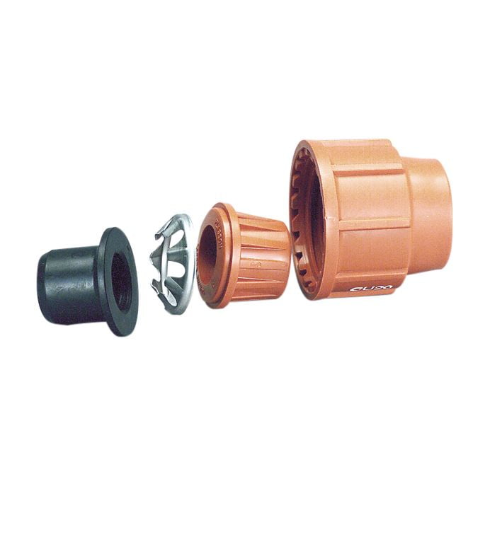 Poly to Copper Adaptor Set